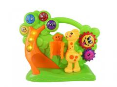 Electric game musical toys giraffe