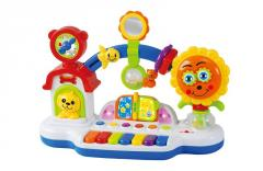 Baby toys happy sunflower piano musical toys