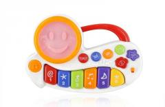 Smiley flower musical keyboard toys