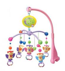 Electric music baby mobiles