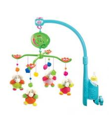 Electric musical baby mobiles with fabric pendant