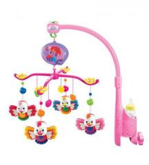 Electric musical baby mobiles