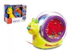 Pull string toys snail