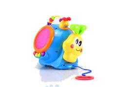 Eletronic musical snail cable toys