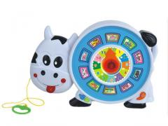 Electronic learning toys cow cable toys