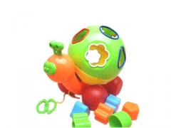 Cable toys snail with rolling ball and blocks toys