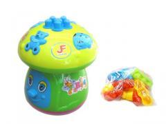 Mushroom puzzle blocks toys 56pcs