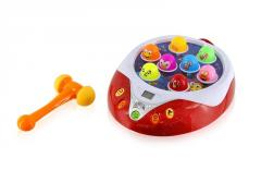 Electric puzzles toys whack-a-mole game