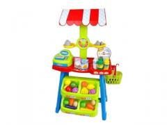 Kids' fruit toys market stall