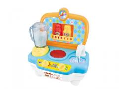 Mini toys kitchen set