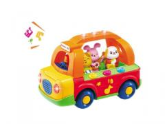 Educational toys happy school bus with music and lights