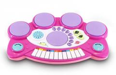 Multifunction electronic musical toys keyboard