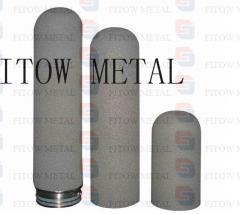 Porous titanium sintered plate