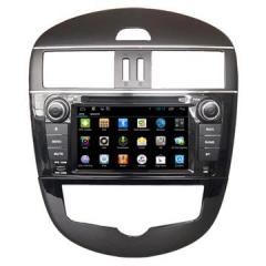 China Factory Car DVD Player With RDS Radio / GPS / Glonass Navigation Nissan Tiida