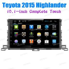Factory Wholesale Android Stereo In Car Navigation Toyota 2015 Highlander