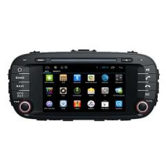 Wholesale Automotive Multimedia GPS / Glonass Navigation Kia Soul Support Radio Player
