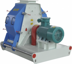 High quality new design in stock animal feed crusher and mixer hammer mill
