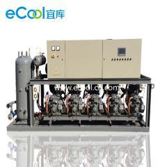 Low-Temperature Piston Type Multi-Compressor Unit