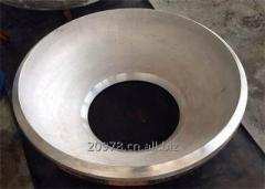 Titanium alloy tank heads-dished ends China