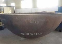 S30408-ASME-A283GRC-A283GRB-A306GR55 tank heads