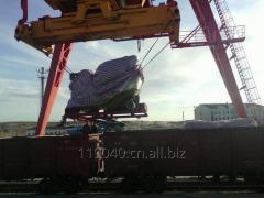لوجستية لوسائل النقل على السكك الحديدية