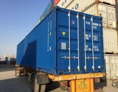 نقل الشحنات في الحاويات بالنقل البحري