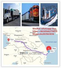 Перевозить груз из китая в Азербайджан