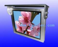 Bus video advertising LCD